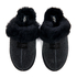 UGG Women's Scuffette II Serein Shimmer Suede Slippers - Black: Image 3