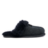UGG Women's Scuffette II Serein Shimmer Suede Slippers - Black: Image 1