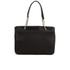 DKNY Women's Gansevoort Pinstripe Quilted Shopper Tote Bag - Black: Image 6