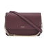 DKNY Women's Bryant Park Small Flap Crossbody Bag - Oxblood: Image 1