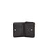 DKNY Women's Gansevoort Pinstripe Small Zip Around Purse - Black: Image 5
