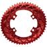 AbsoluteBLACK 110BCD 4 Bolt Spider Mount Aero Oval Chain Ring (Premium): Image 6