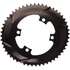 AbsoluteBLACK 110BCD 4 Bolt Spider Mount Aero Oval Chain Ring (Premium): Image 3