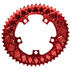 AbsoluteBLACK 110BCD 5 Bolt Spider Mount Aero Oval Chain Ring (Premium): Image 1