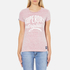 Superdry Women's MFG Original T-Shirt - Shocking Pink Slub: Image 1