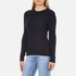 Superdry Women's Luxe Mini Cable Knit Jumper - Navy: Image 2