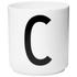 Design Letters Porcelain Cup - C: Image 1