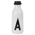 Design Letters Water Bottle - A: Image 1