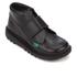 Kickers Kids' Kick Kilo Velcro Strap Boots - Black: Image 2