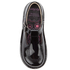 Kickers Kids' Kick T Patent Flat Shoes - Black: Image 3