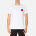 Edwin Men's Red Dot Logo 2 T-Shirt - White: Image 1