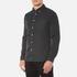 Edwin Men's Standard Shirt - Black/White: Image 2