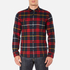 Edwin Men's Labour Shirt - Red/Black: Image 1