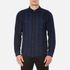 Edwin Men's Labour Shirt - Navy/Black: Image 1