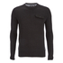 Brave Soul Men's Persian Pocket Jumper - Charcoal Marl: Image 1