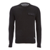 Brave Soul Men's Persian Pocket Jumper - Black: Image 1