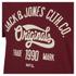 Jack & Jones Men's Originals Raffa T-Shirt - Syrah: Image 3