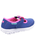Skechers Toddlers' Go Walk Bow Shoes - Blue: Image 2