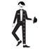 Design Letters Kids' Collection Measureman Wallsticker - Black: Image 1