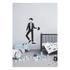 Design Letters Kids' Collection Measureman Wallsticker - Black: Image 2