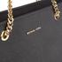 MICHAEL MICHAEL KORS Women's Jet Set Travel Chain TZ Tote Bag - Black: Image 4