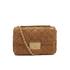 MICHAEL MICHAEL KORS Women's Sloane Large Chain Suede Shoulder Bag - Dark Caramel: Image 1