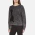 Marc Jacobs Women's Long Sleeve Crew Neck Cat Sweatshirt - Grey: Image 2