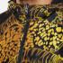 Versace Jeans Men's All Over Print Zipped Hoody - Nero: Image 4