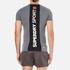 Superdry Men's Gym Basic Sport Runner T-Shirt - Grey Grit: Image 3