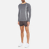 Superdry Men's Gym Sport Runner Long Sleeve Top - Grey Grit: Image 4