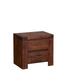 Premium Dark Solid Side Table: Image 1