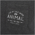 Animal Men's Crafted Back Print T-Shirt - Dark Charcoal Marl: Image 3