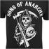 Sons of Anarchy Mens Reaper T-Shirt - Zwart: Image 5