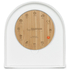 LEFF Amsterdam Felt Table Clock White With Black Hands: Image 2