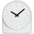 LEFF Amsterdam Felt Table Clock White With Black Hands: Image 1