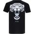 Cotton Soul Men's Leopard T-Shirt - Black: Image 1