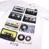 Cotton Soul Men's Retro Tapes T-Shirt - White: Image 2