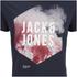 Jack & Jones Men's Core Atmosphere T-Shirt - Navy Blazer: Image 3