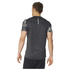 adidas Men's Response Graphic Running T-Shirt - Black: Image 3