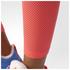 adidas Women's Stella Sport Long Mesh Training Tights - Blue/Pink: Image 6