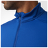 adidas Men's Response 1/4 Zip Long Sleeve Running T-Shirt - Blue: Image 6