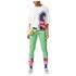 adidas Women's Stella Sport Mesh Training T-Shirt - White: Image 7