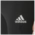 adidas Men's Response Long Running Tights - Black/Red: Image 4