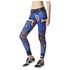 adidas Women's Stella Sport Print Training Tights - Blue/Orange: Image 2