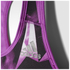 adidas Women's Print Training Racer Back Bra - Purple: Image 3