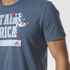 adidas Men's Captain America Training T-Shirt - Blue: Image 3