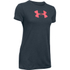 Under Armour Women's Favorite Big Logo Short Sleeve T-Shirt - Stealth Grey: Image 1
