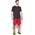 Under Armour Men's Mirage 8 Inch Shorts - Red/Black: Image 3