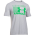 Under Armour Men's Stack Attack Short Sleeve T-Shirt - True Grey Heather: Image 1