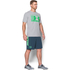 Under Armour Men's Stack Attack Short Sleeve T-Shirt - True Grey Heather: Image 4